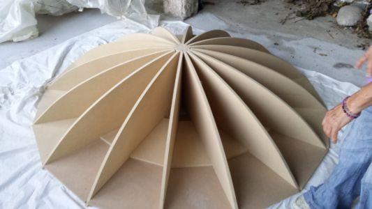 Struttura di costruzione cupola ortofonica